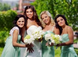 невеста с подружками наряды
