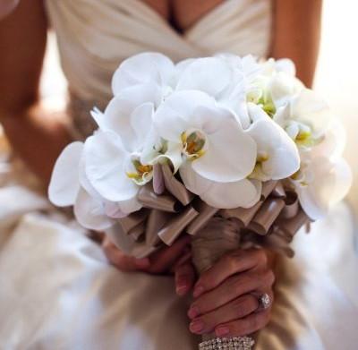 Изобр по > Свадебный Букет из Орхидей