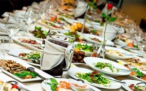 свадебный стол весной