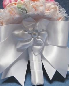 свадебный букет из лент своими руками