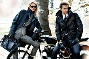 парень и девушка с кожаными аксессуарами