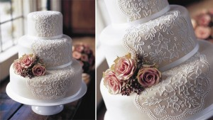 кружевной торт
