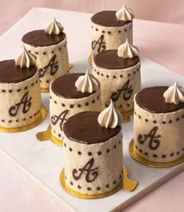 шоколадные капкейки на свадьбе