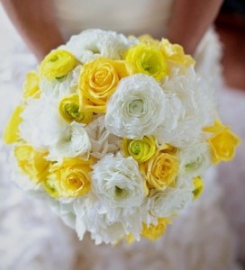свадьба в жёлтом цвете