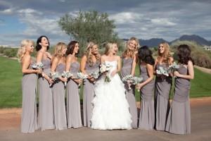 свадьба в оттенке палома