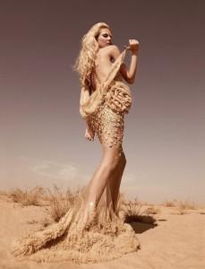 песочное свадебное платье