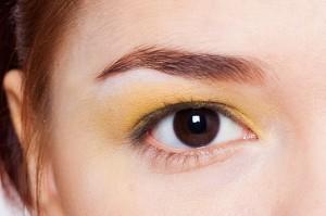 жёлтый макияж