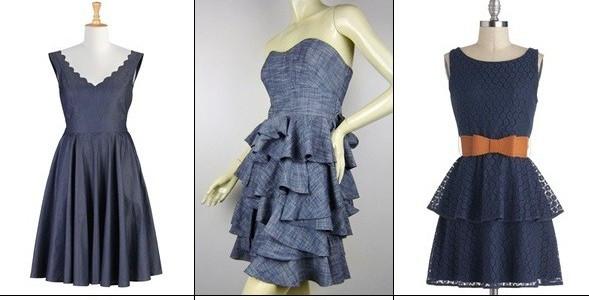 Свадебное Джинсовое Платье Купить