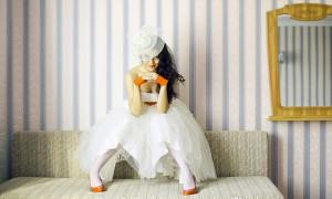 яркие аксессуары на свадьбе