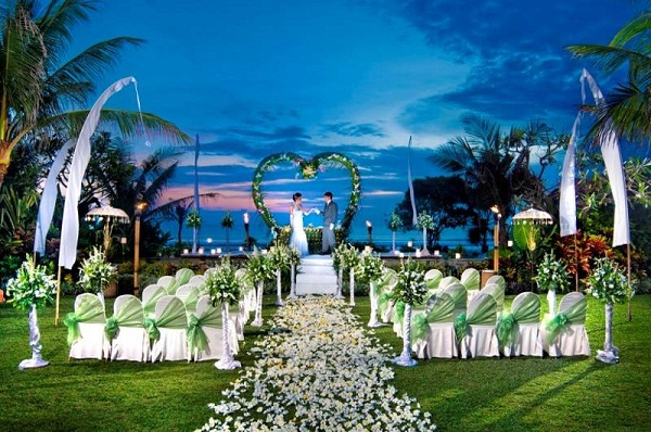Grande island wedding