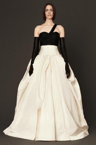 Черные свадебные платья о веры вонг