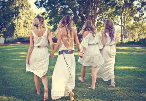 Девушки в стиле бохо фото
