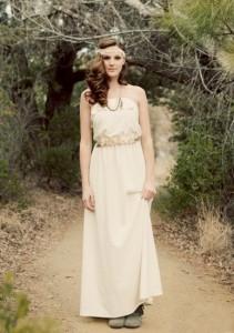 невеста в бохо платье