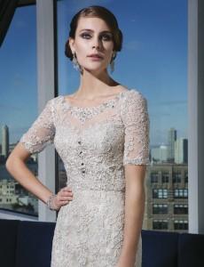 невеста в красивом платье