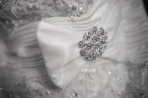 блестящий наряд невесты
